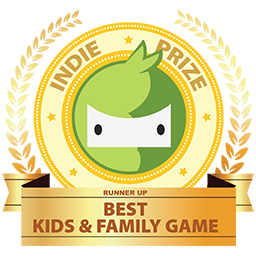 Runner-up Best Kid and Family Game at Indie Prize Europe